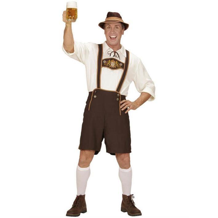Disfraz de bávaro talla grande para hombre
