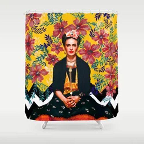 Frida Kahlo Shower Curtains Ai