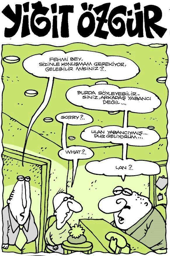 Arkadaş yabancı değil #karikatür