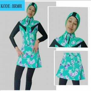 baju renang muslim brm01