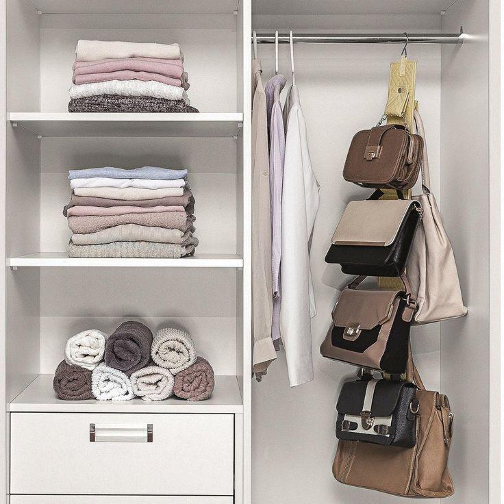 Mais de 1000 ideias sobre arm rio organizador de bolsas no - Organizador de armarios ...