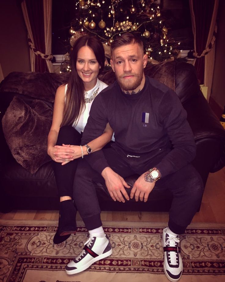 Conor McGregor and his lady on Christmas Day