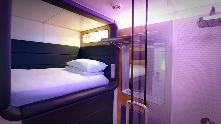 Yotel, a luxury hotel chain, will soon open a new location at Terminal 2E in Paris's Charles de Gaulle airport with modern amenities such as self-check in and check out stations and a luggage-storing robot called a -- wait for it --  The new location will feature rooms -- called cabins -- with flat screen televisions, mood lighting and bathrooms that include a rain shower.  Though the hotels are soundproof, allowing passengers to get decent rest in a noisy, busy airport, travelers should be…