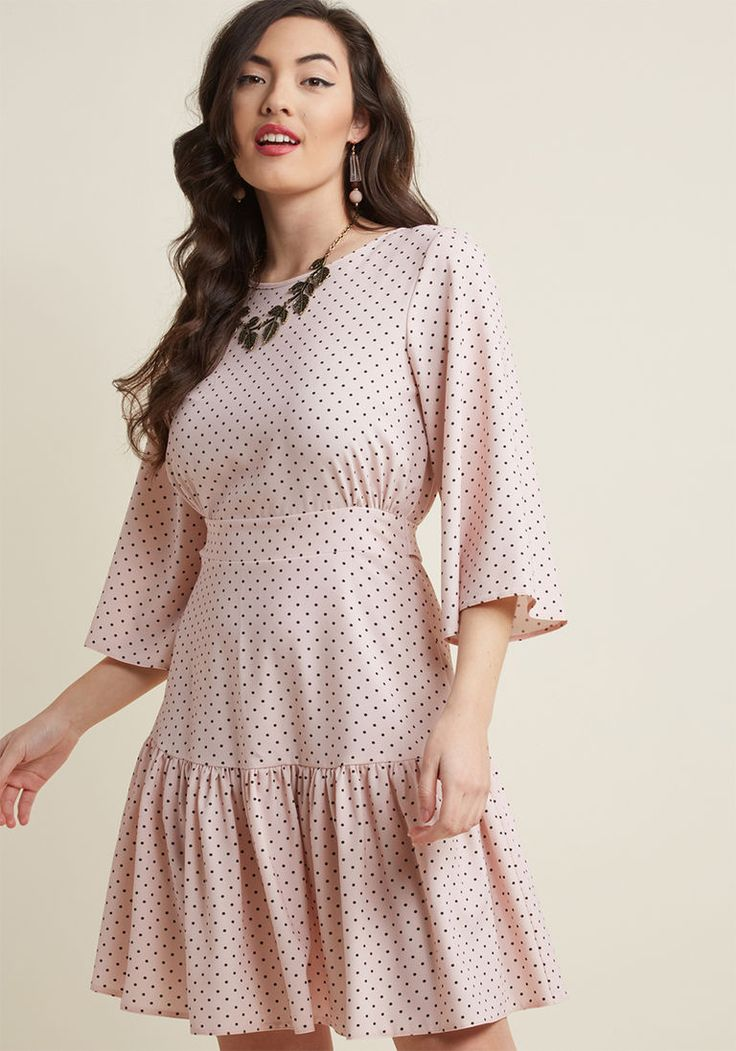 Closet London Ladylike It or Not Bell Sleeve Dress