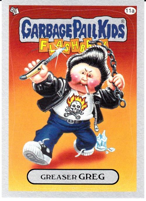 greaser greg: Garbagepail Kids, Garbage Pail Kids Cards, Stuff, Pale Kids, Garbage Kids, Garbage Pale, Greaser Greg, Garbage Pails
