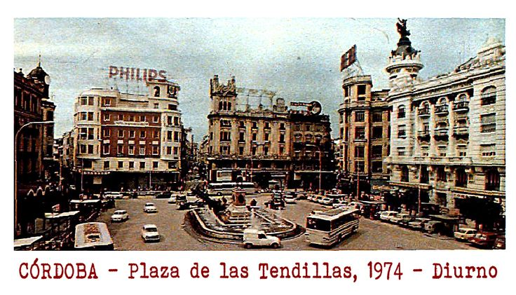 C rdoba plaza de las tendillas a os setenta foto abc for Azulejeria antigua cordoba