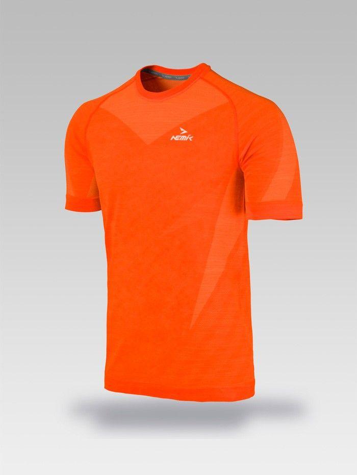 Playera deportiva naranja Nemik #tshirt #orange #Nemik