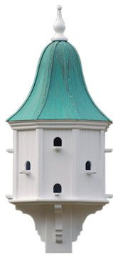 Estate Purple Martin House - traditional - birdhouses - The Birdhouse Chick