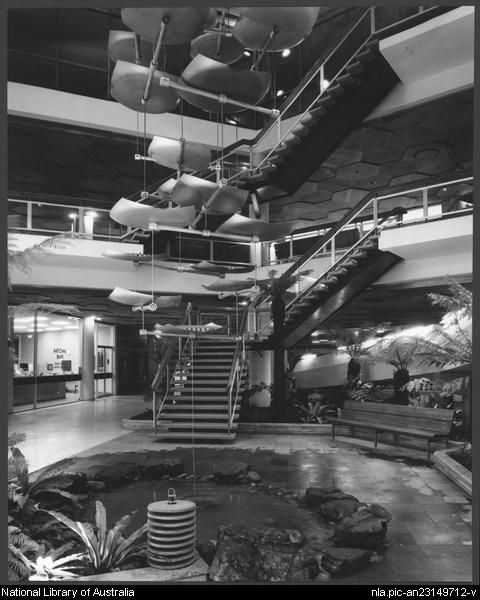 Sievers, Wolfgang, 1913-2007. Miranda shopping centre, Sydney, architects: Tomkins, Shaw & Evans (1) [picture]