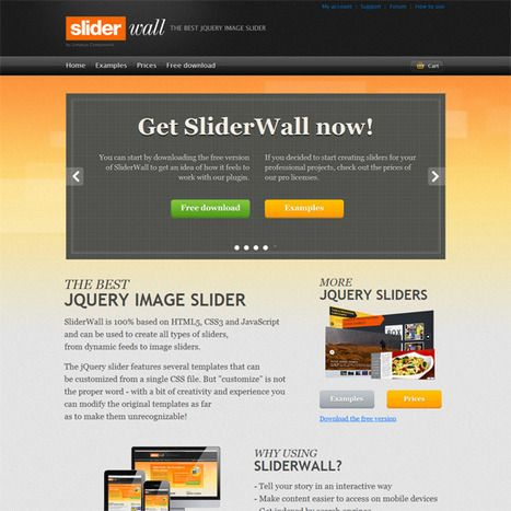 Giveaway: 5 SliderWall jQuery Image Slider Licenses