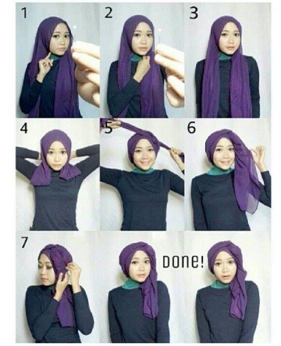 Kumpulan Tutorial Hijab Segi Empat