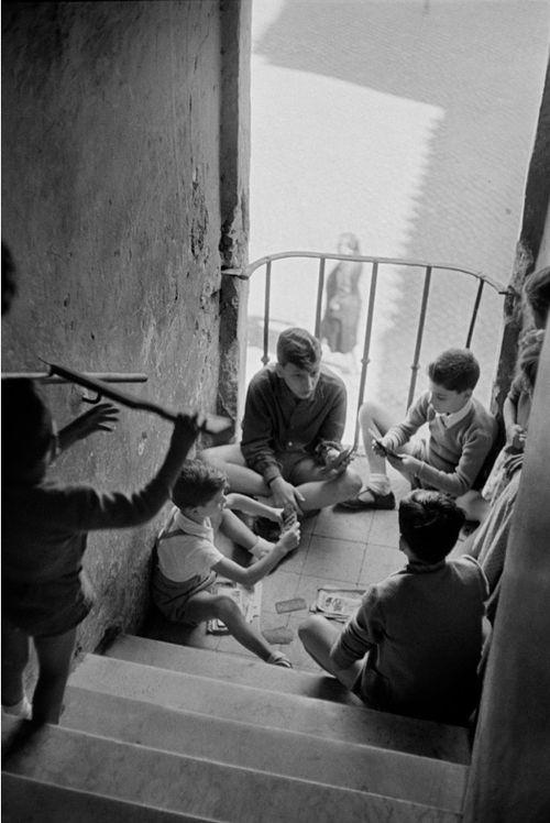 Italy. Rome, 1952 // Henri Cartier-Bresson