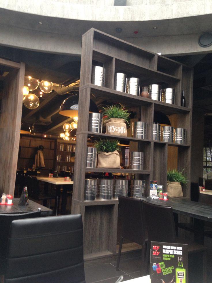 Кафе интерьер_сочетание цветов