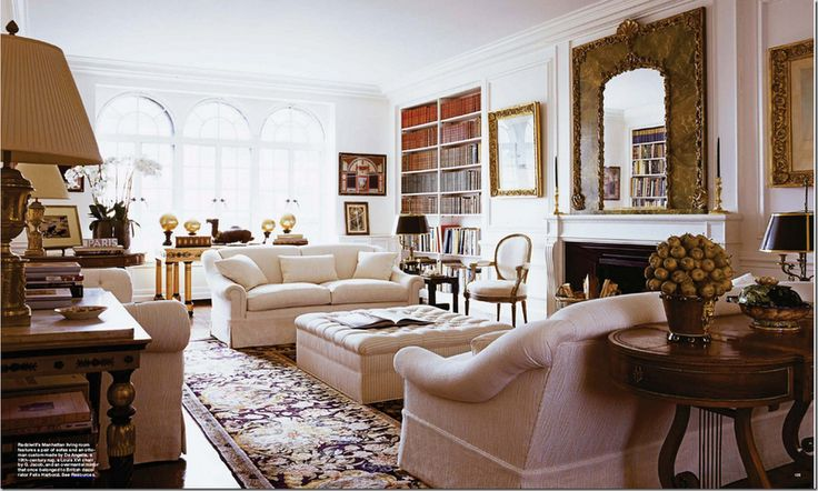 1000 images about lee radziwill 39 s apartment in paris on for Current living room designs