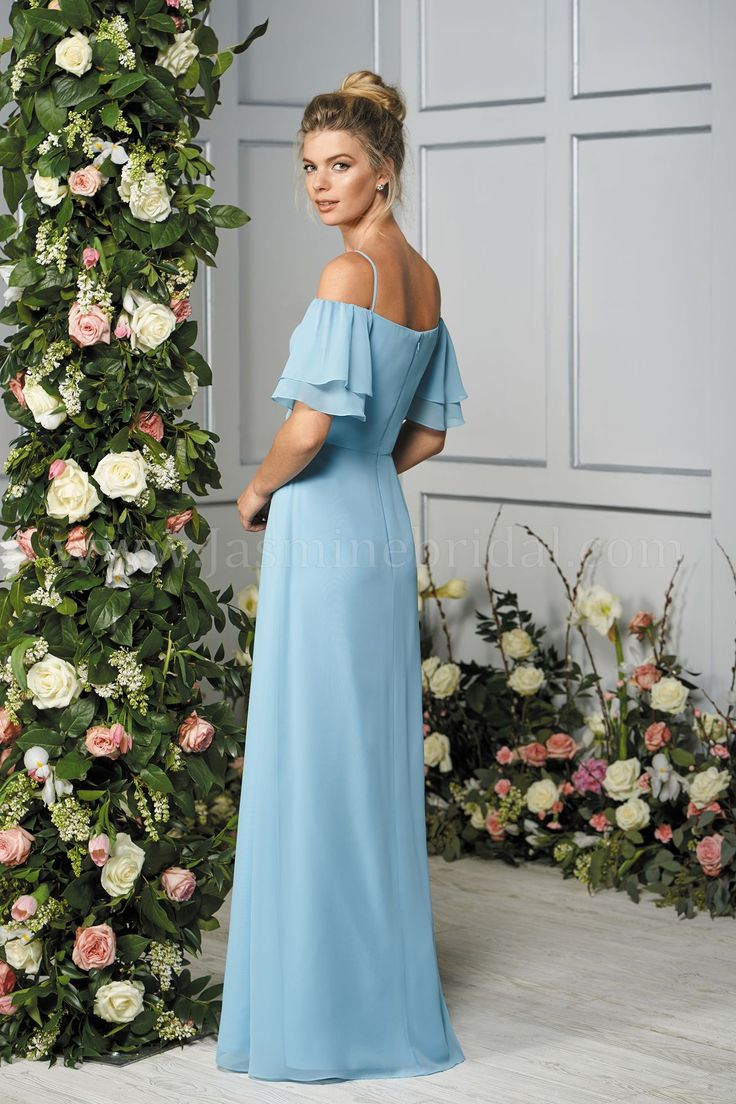 67 best tropical wedding inspo images on pinterest tropical bridesmaid b2 fall 2017 line simple bridesmaid dresses ombrellifo Gallery