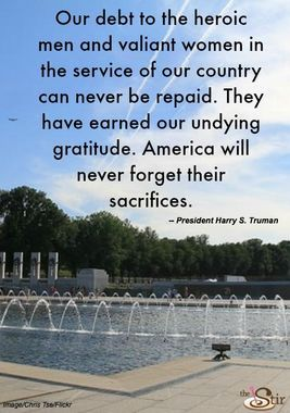 We will never forget ...