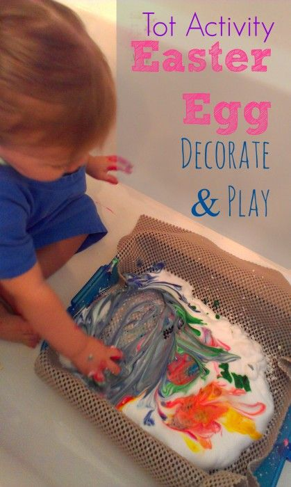 Easter Egg Decorating For Toddlers Simple