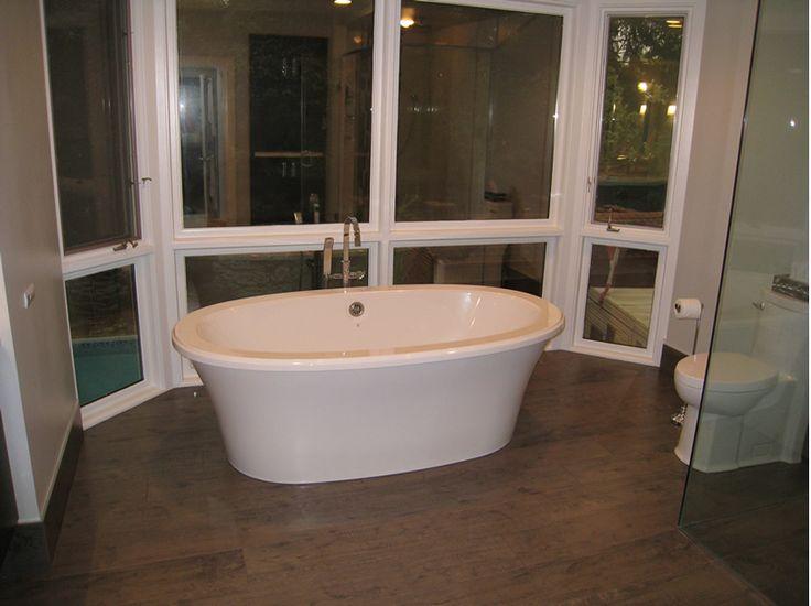 Freestanding Tub Bain Ultra Bathtub Modern Toilet