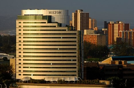 Hilton Hotel Durban....Durban is one of my favorite places in the world :)