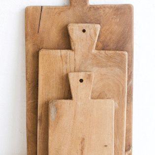 Wooden Chopping Board, Small - Wooden chopping boards are not only handy, but also very stylish.