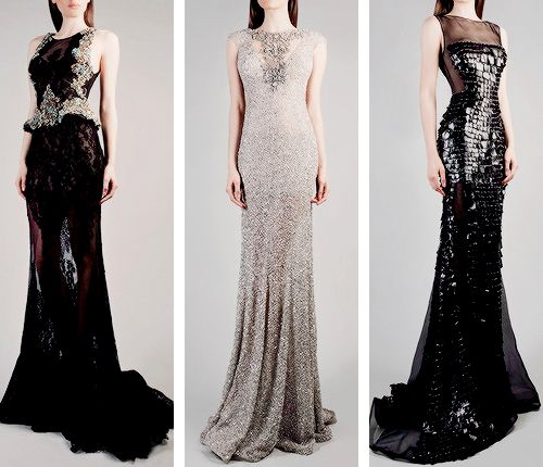 Hard in Hightown 3: the Re-punchening, fashion-runways: GEMY MAALOUF Couture Fall/Winter...