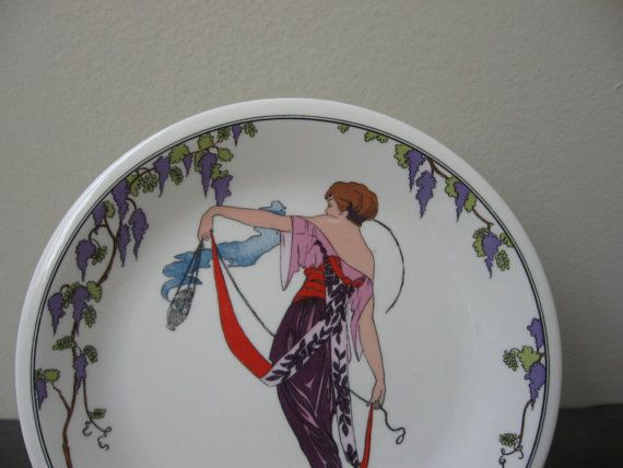 Two Villeroy and Boch Design 1900 plates by SteviezCloset on Etsy