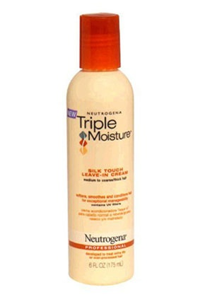 No. 3: Neutrogena Triple Moisture Silk Touch Leave-In Cream, $6.99, 8 Best Leave-In Conditioners