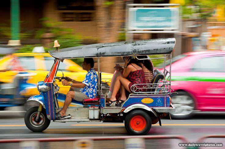 See Bangkok in a Tuk Tuk. CHECK 2004