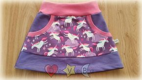 falda Vecan de DeVeBa, patrón gratuito talla 3 años
