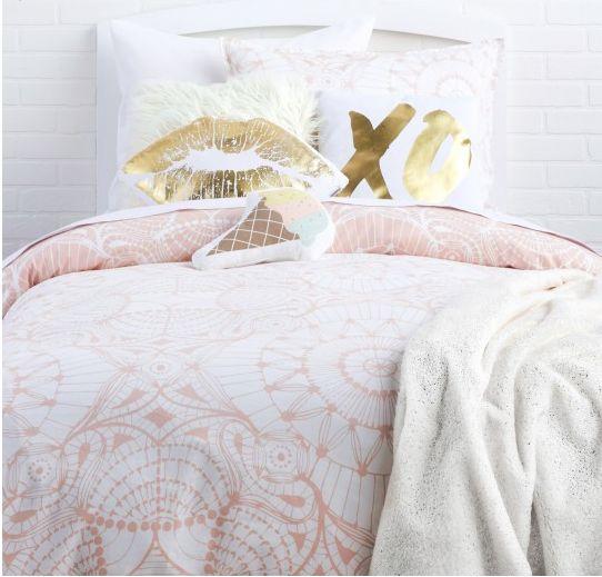 make me blush collection available on dorm bedding loves pinterest. Black Bedroom Furniture Sets. Home Design Ideas