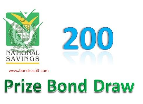 Rs, 200 Prize bond List Result 15 March 2017 draw held in Rawalpindi
