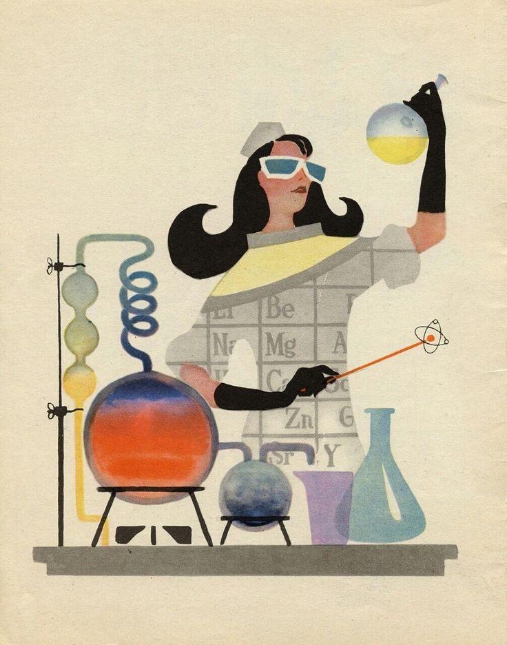 Веселые картинки химии