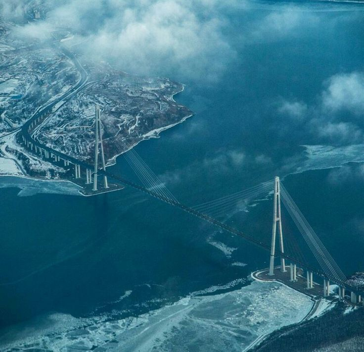 100%™ Vladivostok. Russia   Russky Bridge