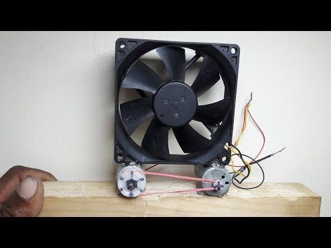 FREE ENERGY GENERATOR A PERPETUAL MOTION MACHINE & COMPUTER FAN EXPLAINED DEBUNKED!! - YouTube