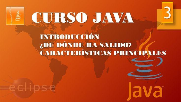 Curso Java. Introducción. Vídeo 3