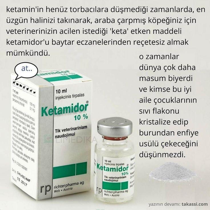 yazının devamı: http://takassi.com #ketamine #ketamidor #keta #takassi