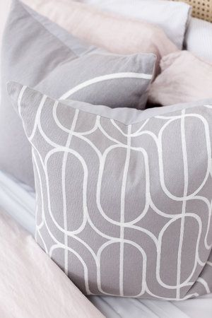 The Stables offers a gorgeous range of Australian designed cushions. The FREY cushion is featured here.