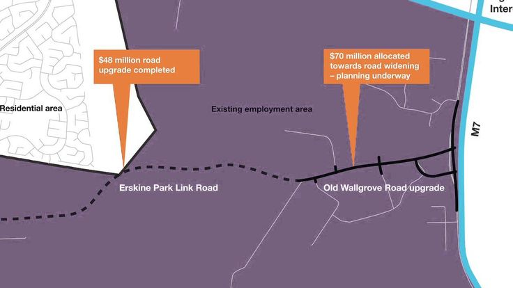 Proposal to extend the Western Sydney Employment Area.