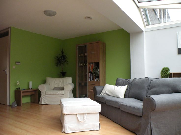 Groene Muur Woonkamer : Groene muur woonkamer