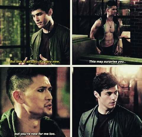 Alec and Magnus #ShadowhuntersSeason2