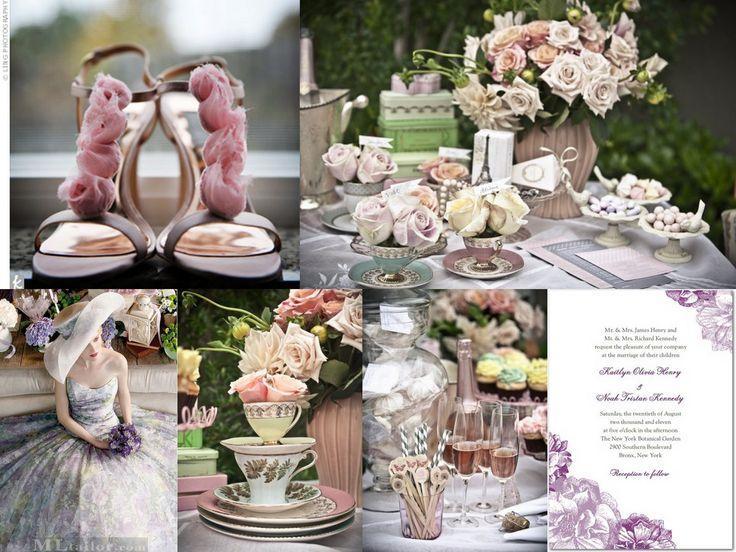 Old Rose Wedding Motif 105