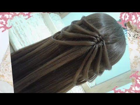 peinados recogidos faciles para cabello largo bonitos y rapidos con trenzas para niña para fiestas94 - YouTube