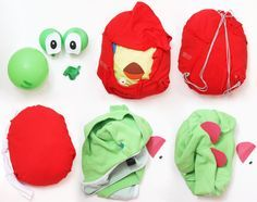 How to Make a Yoshi Costume