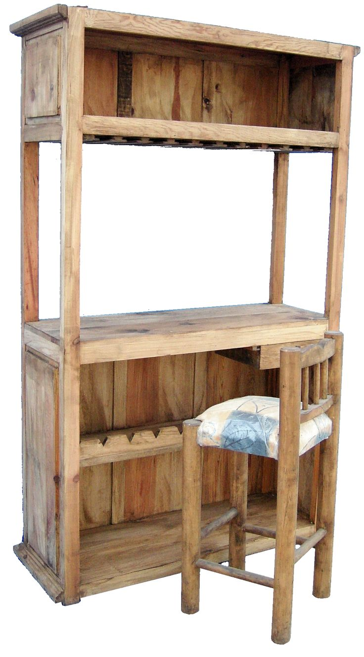 17 mejores im genes sobre cantinas en pinterest estantes for Bar hecho en madera