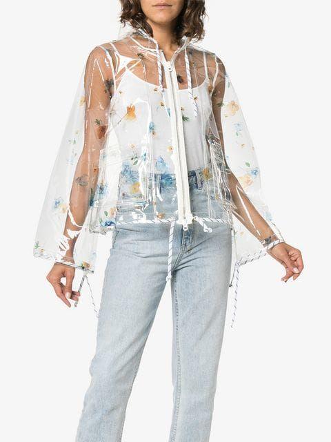 Ganni Rain Ganni Floral Jacket Ganni Rain Floral Jacket w4FHS
