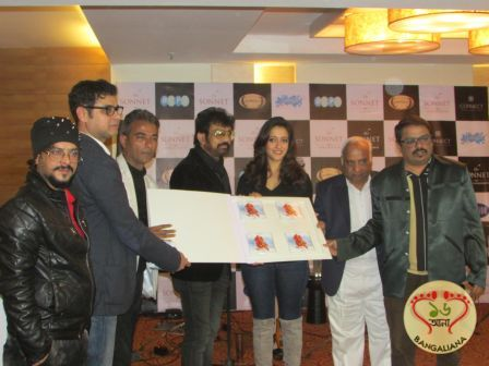 The music launch of the Bengali film Kaya took place in the presence of Rajib Chowdhury, Raima Sen, music directors Anindya Shahar, Shubhayoo and others.