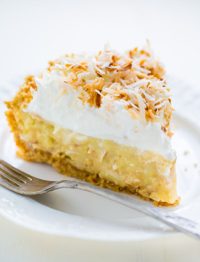Creamy Coconut & Banana Tart Recipe — Dishmaps