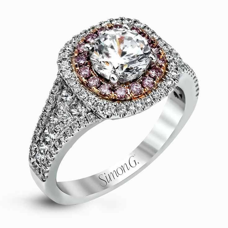 Elegant Check out this exclusive design by Simon G the MR Engagement Ring LOVE