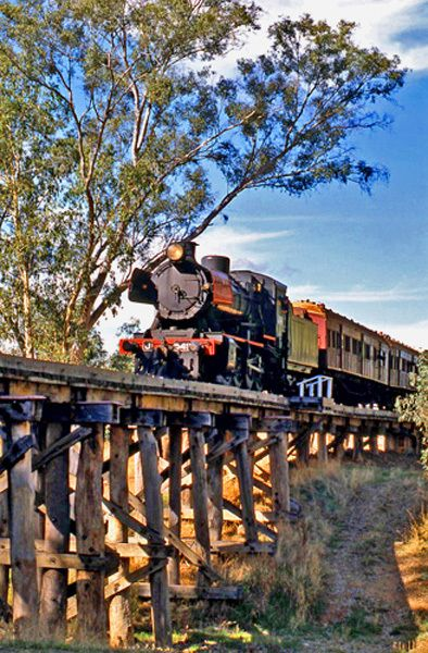 Victoria Central Goldfields Castlemaine Maldon Rail Railway Steam-train Beer Tasting Great Day Out