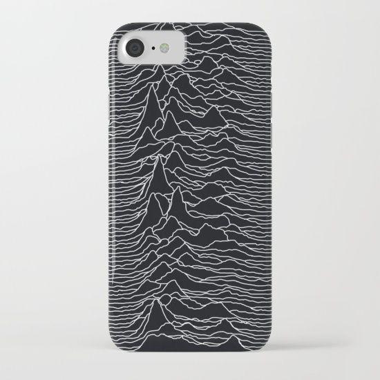 Unknown Radio Waves - Unknown Pleasures iPhone & iPod Case